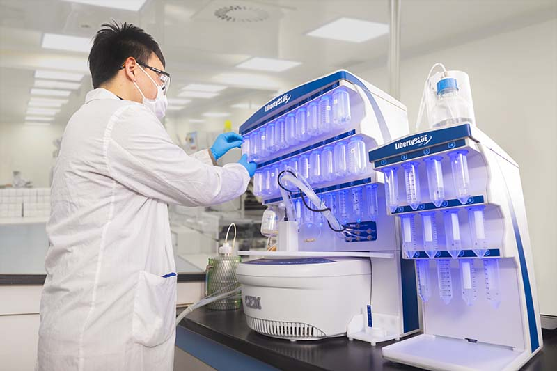 AmbioPharm peptide scientist