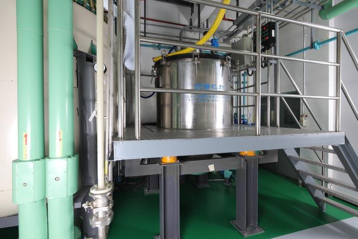 AmbioPharm Peptide GMP Manufacturing laboratory