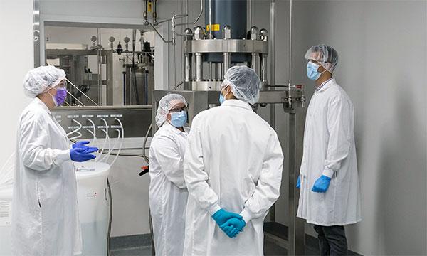 GMP Peptide Scientists